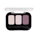 Parisa Тени компактные 3-х цветные Abundance Eyeshadow тон 18, 5.6 г 2