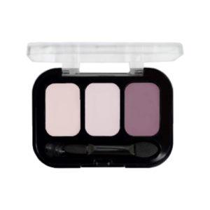 Parisa Тени компактные 3-х цветные Abundance Eyeshadow тон 18, 5.6 г 17