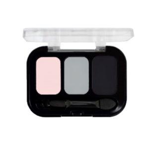 Parisa Тени компактные 3-х цветные Abundance Eyeshadow тон 20, 5.6 г 9