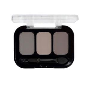 Parisa Тени компактные 3-х цветные Abundance Eyeshadow тон 21, 5.6 г 9