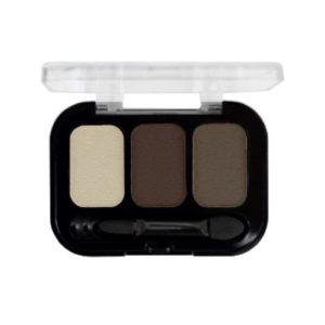 Parisa Тени компактные 3-х цветные Abundance Eyeshadow тон 24, 5.6 г 8