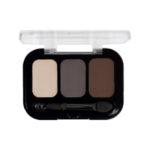 Parisa Тени компактные 3-х цветные Abundance Eyeshadow тон 25, 5.6 г 2