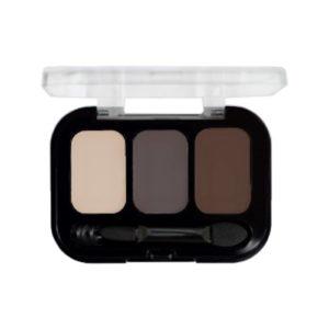 Parisa Тени компактные 3-х цветные Abundance Eyeshadow тон 25, 5.6 г 6