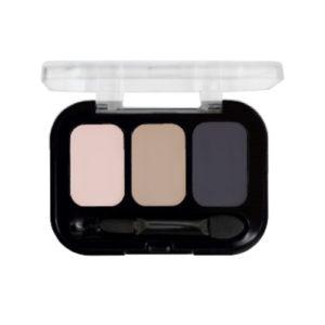 Parisa Тени компактные 3-х цветные Abundance Eyeshadow тон 26, 5.6 г 41