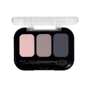 Parisa Тени компактные 3-х цветные Abundance Eyeshadow тон 27, 5.6 г 42