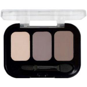 Parisa Тени компактные 3-х цветные Abundance Eyeshadow тон 28, 5.6 г 43