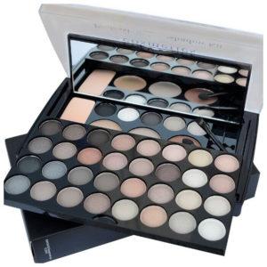 Parisa Палитра профессиональная для макияжа: тени 37 цветов, палитра 02 8