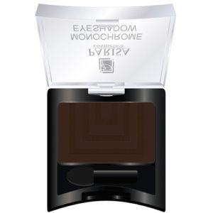 Parisa Тени компактные Monochrome Eyeshadow тон 17 матовый тёмно-коричневый, 2 г 59