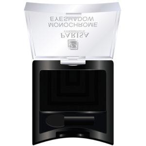 Parisa Тени компактные Monochrome Eyeshadow тон 18 матовый чёрный, 2 г 60