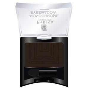 Parisa Тени компактные Monochrome Eyeshadow тон 20 матовый коричнево-серый, 2 г 62