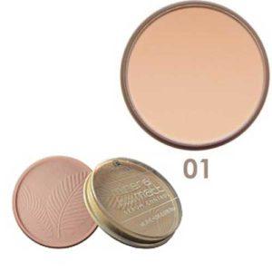 Parisa Пудра компактная с витаминами А и Е, УФ UVA+UVB PP-06 тон 01 светлый бежевый, 15 г 34