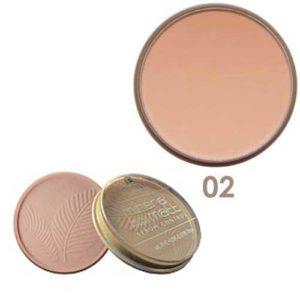 Parisa Пудра компактная с витаминами А и Е, УФ UVA+UVB PP-06 тон 02 розово-бежевый, 15 г 35