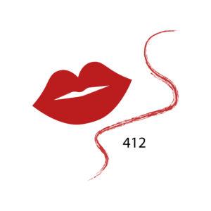 Parisa Карандаш для губ тон 412 красный классик, 1.5 г 5