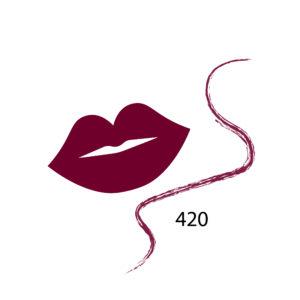 Parisa Карандаш для губ 3 в 1 тон 420 бургунд, 1.5 г 32
