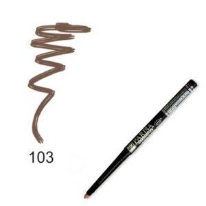 Parisa Карандаш механический для глаз тон 103 коричневый светлый, 1.2 г 34