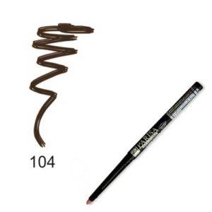 Parisa Карандаш механический для глаз тон 104 коричневый тёмный, 1.2 г 35