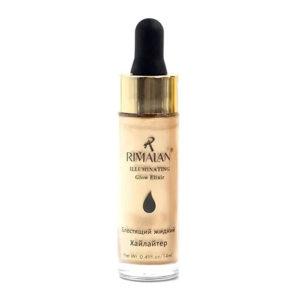Rimalan Хайлайтер жидкий блестящий Illuminating Glow Elixir, F30, тон 01 жемчуг, 14 мл 65