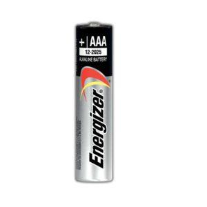 Energizer Батарейка (щелочной элемент питания), типоразмер ААА - LR03, 1 шт на блистере 2