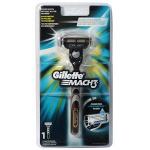 Gillette Mach3 Бритва безопасная для мужчин со сменными кассетами (1 шт) 36