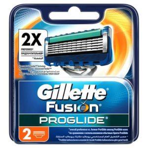 Gillette Fusion 5 Proglide Кассеты сменные для безопасных бритв (2 шт) 33