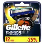 Gillette Сменные кассеты Gillette Fusion5 ProGlide, 12 шт 1