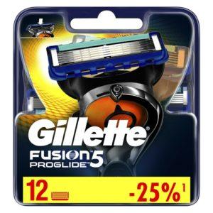 Gillette Сменные кассеты Gillette Fusion5 ProGlide, 12 шт 6