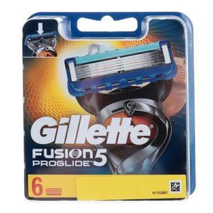 Gillette Fusion 5 Proglide Кассеты сменные для безопасных бритв (6 шт) 6