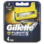 Gillette Fusion 5 ProShield Кассеты сменные для безопасных бритв, 4 шт 2