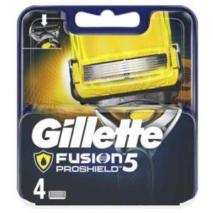 Gillette Fusion 5 ProShield Кассеты сменные для безопасных бритв, 4 шт 5
