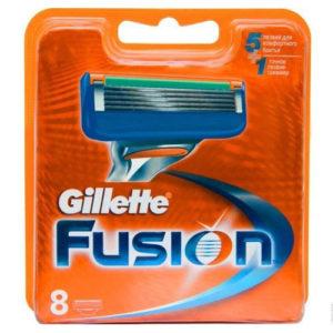 Gillette Fusion Кассеты сменные для безопасных бритв (8 шт) 5