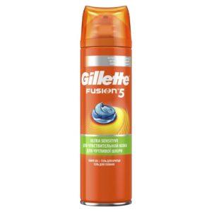 Gillette Гель для бритья Gillette Fusion для чувствительной кожи, 200 мл 6