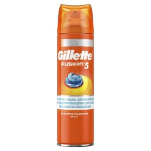 Gillette Гель для бритья Gillette Fusion охлаждающий, 200 мл 6