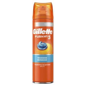 Gillette Гель для бритья Gillette Fusion увлажняющий, 200 мл 8