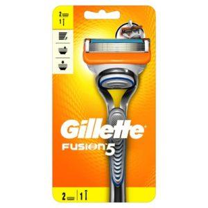 Gillette Мужская бритва Fusion5 с 2 сменными кассетами 1