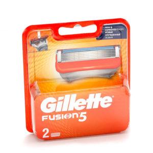 Gillette Fusion 5 Кассеты сменные для безопасных бритв (2 шт) 5