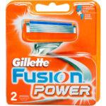 Gillette Fusion 5 Power Кассеты сменные для безопасных бритв (2 шт) 1