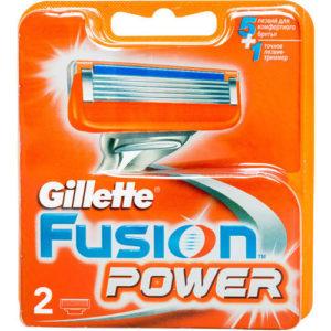 Gillette Fusion 5 Power Кассеты сменные для безопасных бритв (2 шт) 3