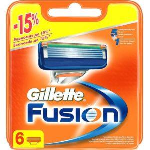 Gillette Fusion 5 Кассеты сменные для безопасных бритв (6 шт) 5