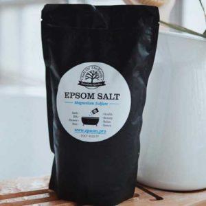Epsom Соль английская устранение целлюлита, сокращение жировых отложений Epsom Salt, 1 кг 11