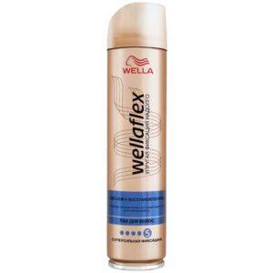 Wellaflex Лак для волос объем и восстановление, суперсильный (5/5), 250 мл 9