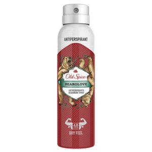 Old Spice Дезодорант-антиперспирант аэрозольный Bearglove защита от запаха и пота 48 ч + ощущение сухости, 150 мл 20