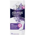 Always Прокладки гигиенические женские ароматизированные на каждый день (16 шт), размер 3 2