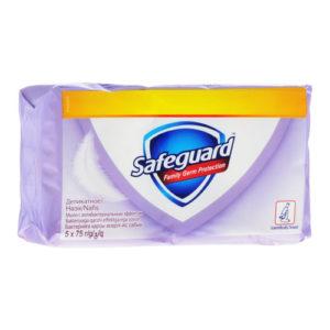 Safeguard Мыло туалетное деликатное с антибактериальным эффектом (5 х 70 г), 350 г 44
