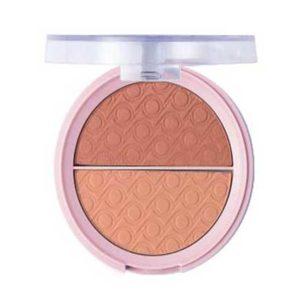 Pretty Румяна двухцветные для лица blush, тон 001 pretty pink 3