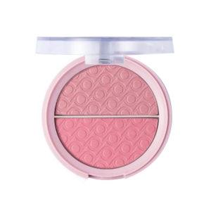 Pretty Румяна двухцветные для лица Blush, тон 002 peach star, 9 г 8