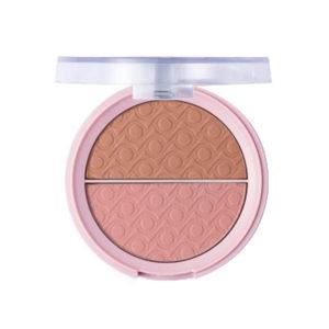 Pretty Румяна двухцветные для лица Blush, тон 003 pink bronze, 9 г 11