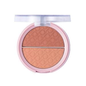 Pretty Румяна двухцветные для лица Blush, тон 004 sweet bronze, 9 г 8
