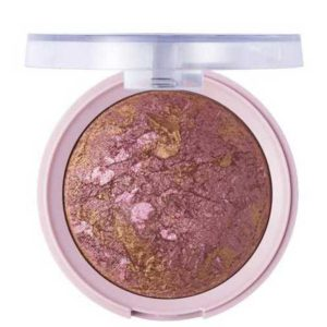 Pretty Румяна запечённые для лица baked blush, тон 005 rosy bronze 3