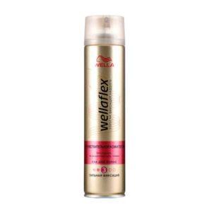 Wellaflex лак для волос для чувствствительной кожи головы без отдушек, сильный (3/5), 250 мл 8
