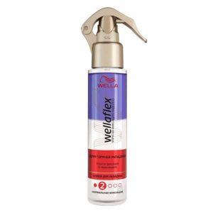 Wellaflex спрей для горячей укладки упругая фиксация и термозащита, нормальный (2/5), 150 мл 8